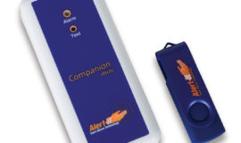Companion mini with Plesio pager Nurse Call