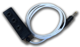 Custom double Adapter by Nurse Call Solutions
