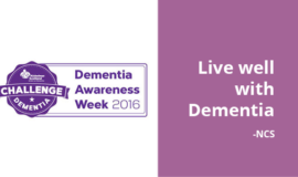 Live well with dementia and the facts